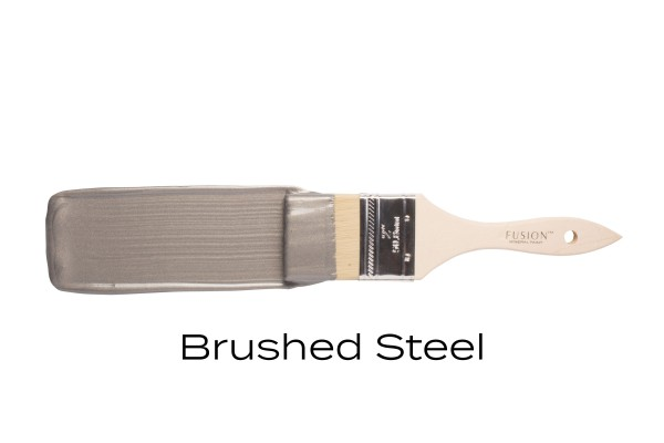 Brushed Steel - Metallics - Fusion Mineral Paint