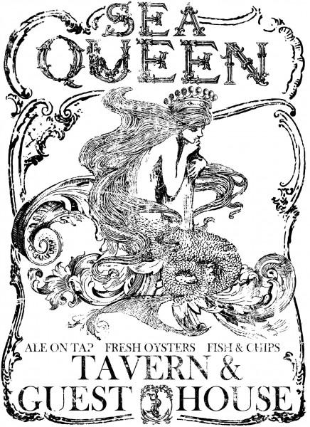 "Decor Transfer ""Sea Queen"""