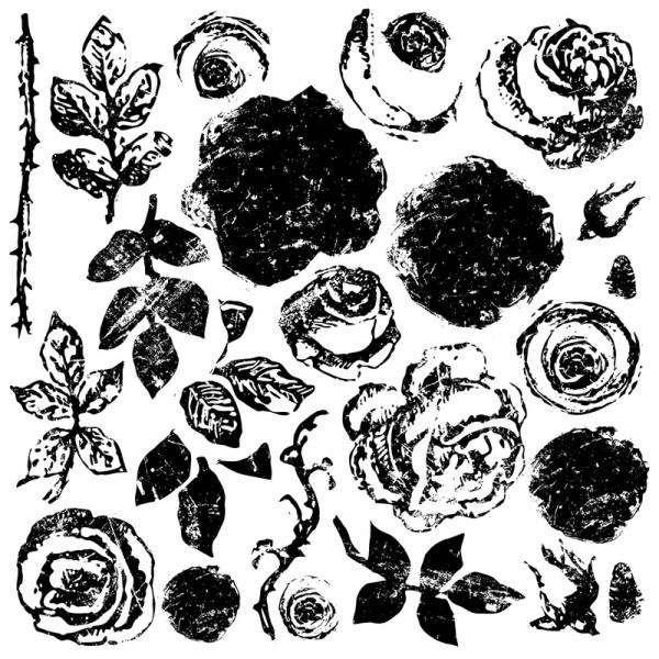 "Decor Stempel ""Painterly Roses"""
