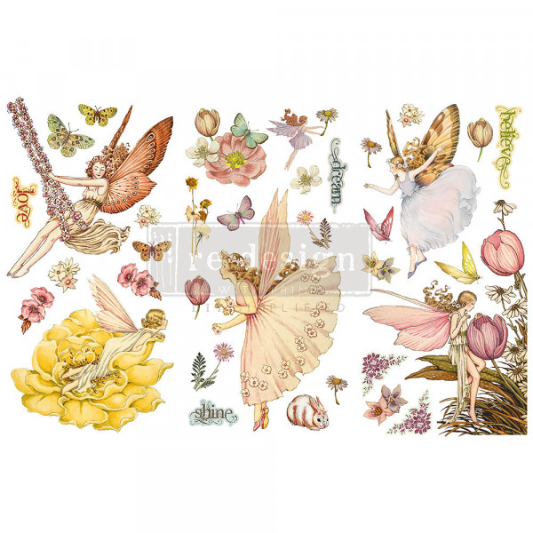 """Fairy Flowers""' - Transferfolie ReDesign"