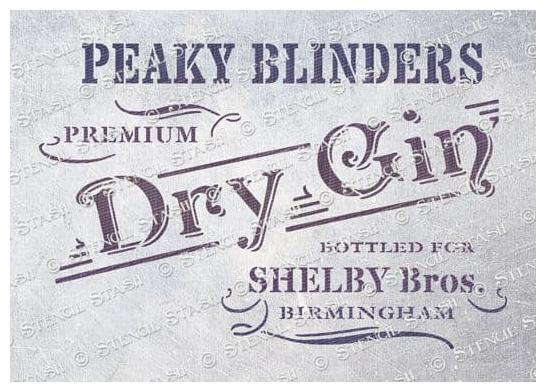 Peaky Blinders Gin