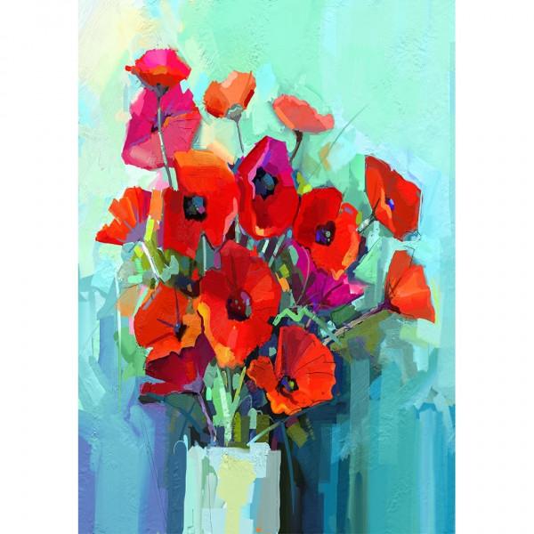 Poppies - Decoupage Papier