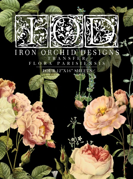 "Decor Transfer ""Flora Parisiensis"""