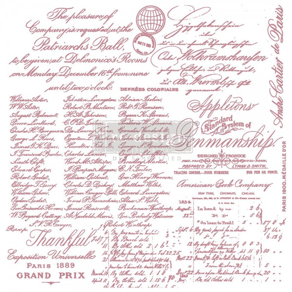 'Handwritten Note' - Decor Stempel ReDesign