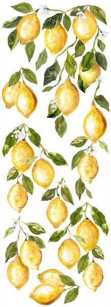 "Decor Transfer ""Lemon Drops"""