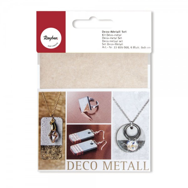 Deco Metall Set