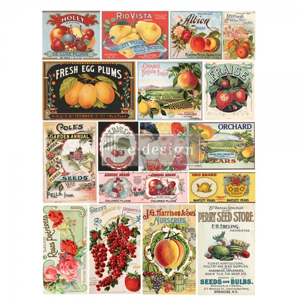 'Vintage Seed' - Transferfolie ReDesign
