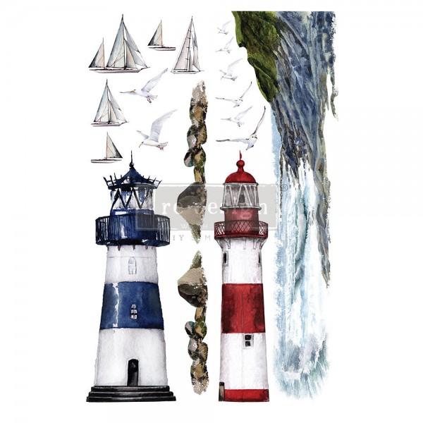 'Lighthouse' - Transferfolie ReDesign