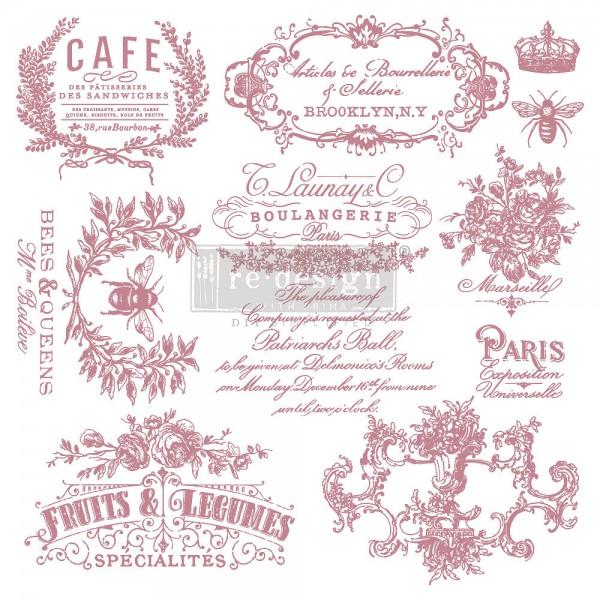 'I see Paris' - Decor Stempel ReDesign