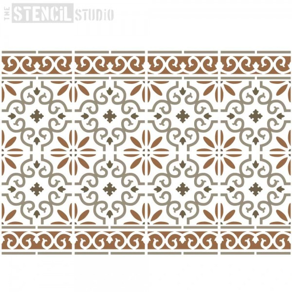 Rissington - Tile & Border