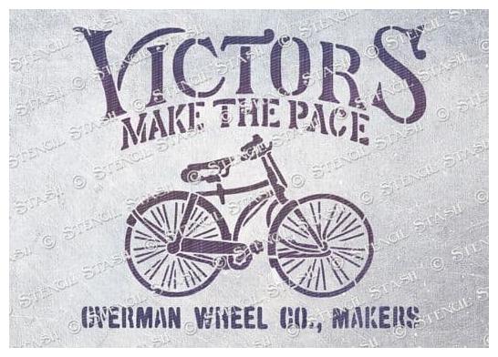 Victors Bicycles - Vintage Schablone