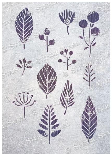 Leaf Print Pattern