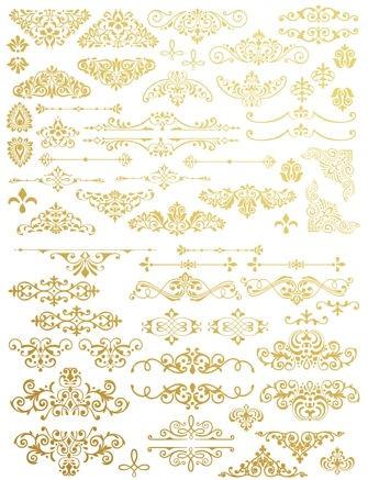 'Gilded Ornate Flourishes' - Transferfolie ReDesign