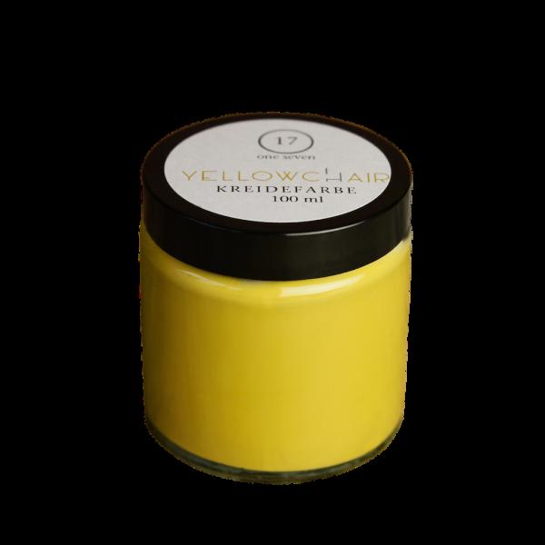 yellowchair Kreidefarbe No. 17 / one seven / ockergelb